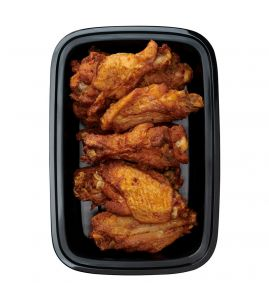 ALC - Air Fryer Wings: A calorie-conscious version of your favorite chicken wings – just add your favorite sauce!