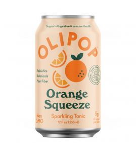 OLIPOP Orange Squeeze Sparkling Tonic