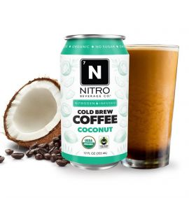 NITRO Cold Brew: Coconut Can