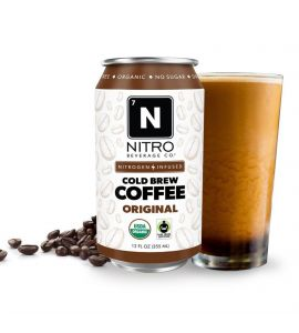 NITRO Beverage Co - Cold Brew Coffee - 4 Pack