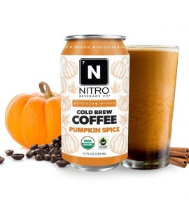 NITRO Pumpkin Spice Cold Brew Coffee